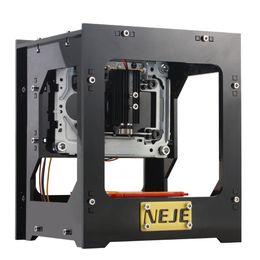 Wholesale NEJE DK KZ mW High Speed Mini USB Laser Engraver Carver Automatic DIY Print Engraving Carving Machine Off line Operation DHL E1436