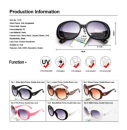 Hot Selling fashion kids sunglasses brand designer sun glasses for girls kids gafas de sol V116
