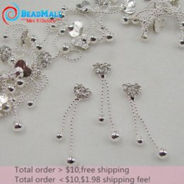 Min order $10 New 3d Alloy Nail Art,20pcs lot Heart Glitter Pendant Nail Art,Silver alloy Fingernail Jewelry,Nail Decoration