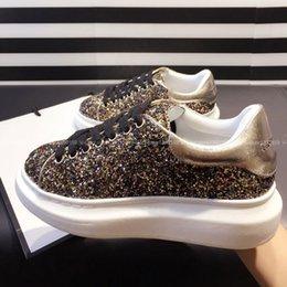 Wholesale 2015 Designer Shoes Woman Flats Women Glitter Casual Shoes Fashion Ladies Autumn Footwear on Platform Sapatos_Femininos Supplier