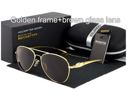 Latest design Fashion Polarized Sunglasses Coated anti reflection Aluminum magnesium alloy frame outdoor Anti-Glare Elegant Sun glasses E912