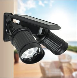 Super Bright 14 LED impermeable PIR Sensor de movimiento Solar Powered luz, led luces solares jardín de la lámpara de seguridad al aire libre Street Light desde fabricantes