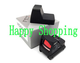 Promotion Trijicon RMR Adjustable Style Red Dot Sight Scope With Protect Rubber Cover For Hunting