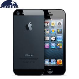 "Used iPhone5 Original Unlocked Apple iPhone 5 Mobile Phone 4"" 1G 16GB Used Phone 1080P WCDMA Smartphone GPS IOS iPhone5 Cell Phones"