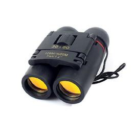 Promotions!! Binocular Day Night Binocular Telescope Folding 30 x 60 30x60 126M 1000M Free Shipping