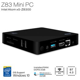 Wholesale Beelink Z83 TV Box Intel Atom X5 Z8300 Quad core K M Ethernet Bit Windows G G WiFi BT4 Connectivity