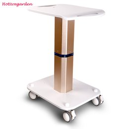 Trolley Stand Styling Pedestal Rolling Cart Roller Wheel Aluminum ABS For Lipo Laser Salon Slimming Machine Use