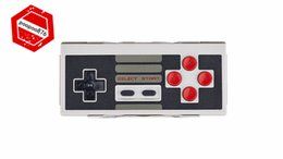 Wholesale 2017 C Game Hardware Gamepads Original Bitdo NES30 Classic Retro Wireless Bluetooth Game Controller boy Support IOS Android Gamepad
