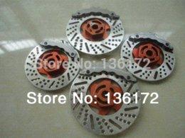 Wholesale 1 RC car accessories RC car parts Aluminum Alloy brake disc brake dish car accessories