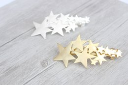 Wholesale 15 off New Arrival Hair Jewelry Accessories Rhinestone Pearl Starfish Shell Golden Alloy Barrettes Women Hair Clip Girl hairPin
