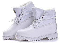 Las mujeres de los hombres del invierno del otoño calientan los cargadores al aire libre impermeables del tobillo del cuero genuino de las botas de la nieve que acampan cargadores militares que van de excursión desde bota militar proveedores