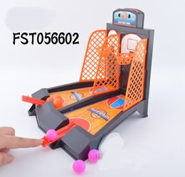 Wholesale Parent child interaction Desktop Basketball Game Educational Indoor Fun Sports toys Office Basketball Shooting Game WA0065