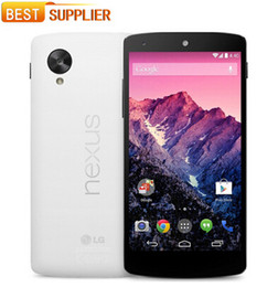 Original unlocked Phone LG Nexus 5 D820 3g 4g 4.95'' Touch Wifi Nfc Quad Core 2gb Ram 16gb Rom Android refurbished phone