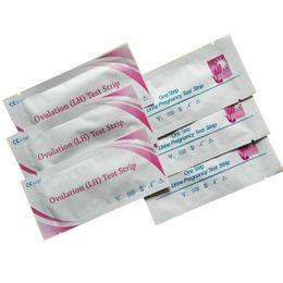 FDA CE 3500pcs Pregnancy Test Strips+10000pcs Ovulation LH Test Strips DHL or Fedex Free Shipping Fast
