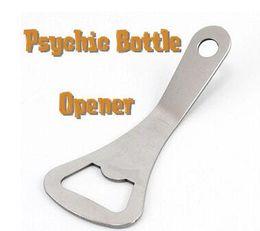 Psychic Bottle Opener - trick, Free shipping, opener magic,mental, Magic trick classic toys