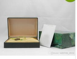 Wholesale box scatola verde Vigilanza antica moda di alta qualità orologio di lusso scatola calda nuova famosa scatola di orologio costoso ruolo legno