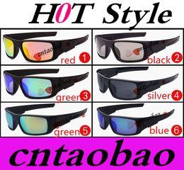 Wholesale 6 options Factory Price best selling crankshaft sport sunglasses unisex acetate uv400 goggle glasses Factory price