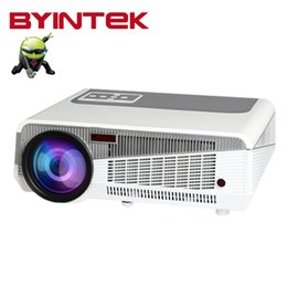 Wholesale Smart Wifi Projector BL106 Home Theater Built in Android HDMI USB VGA Digital WXGA Video P LCD LED fUll HD beamer proyector