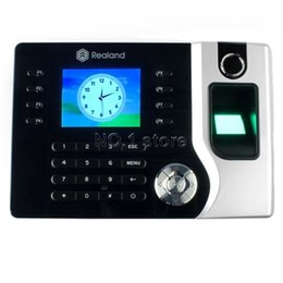 Wholesale New Fingerprint Id Card Reader Attendance Time Clock Tcp ip For Track Employee Time C60T