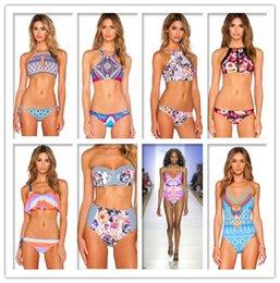 Womens Bandage Push-up Bikini Set Padded Bra Triangle Swimsuit Swimwear