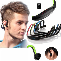 new S9 Stereo Headset Sports Bluetooth Speaker Headset Wireless Neckband Headphones In Ear Earphone Hifi Music Player DHL Free delivery