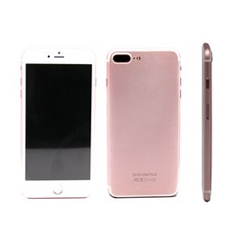 Wholesale Goophone i7 inch MTK6582 Quad Core Show G GB phone Show fake G lte G phone call clone phone