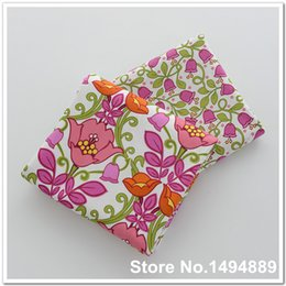 Wholesale 1 meter VB Morning Glory Flowers AB Design Printed Cotton Plain Fabric for Dress Cloth Quilting Tissue by Yard Meter cm CR