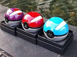 Wholesale Hot Led Pokeball Power Bank Real mah Christom Gift Game Poke Go Plus Charger Baby Mobile Poke ball go Toy PowerBank with Retail box