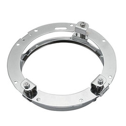 1 PCS Round Headlight Mounting Bracket Ring for 7'' LED Projector Headlight for Harley Davidson