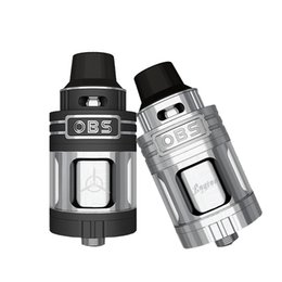 Wholesale Original OBS Engine RTA ml Tank OBS Engine RTA with Top Airflow Re filling Best Hands Feeling Stainless Stell with Pyrex Glass