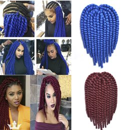 Promotion le tressage des cheveux 12 pouces Kanekalon poils de tressage synthétique 6pcs / lot havana mambo torsion crochet plus couleur extensions tresses Expresiion jumbo cheveux 12 pouces 75g