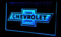 LS064-b CHEVROLET Neon Light Sign