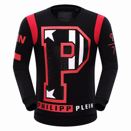 Wholesale 2016 PP mens big P letters pattern hoodies man hoodie cotton sweater blazer NWT colors size M XL