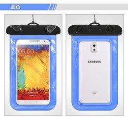 Wholesale Artifact phone waterproof phone waterproof seal valve style super swim iPhone Samsung phone waterproof cover
