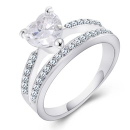 One Piece Crystal Rings Women Aneis Femininos Bijuterias Created Diamond Aliancas De Casamento Engagement Gift 2016 rj023