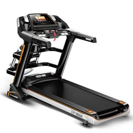 Wholesale 4 HP Color Screen Multi functional with Ascension Treadmill commercial treadmill home treadmill best choice