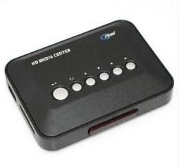 Descuento el jugador del sd para la televisión 720p HD Media Center película RM / RMVB / AVI / MPEG / MKV / MP4 TV de alta definición multimedia reproductor de vídeo USB Box SD / MMC reproductor de disco duro