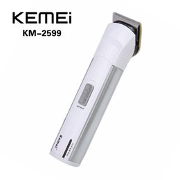Wholesale KEMEI KM Electric Hair Clipper Trimmer Rechargeable Shaver Razor Cordless Adjustable Clipper with Limit Comb Adjustor