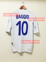 Wholesale Retro Jersey running Baggio Last game