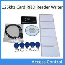 Wholesale New Proximity USB khz Card RFID Reader Writer Copier Duplicator Controller Compatible EM4305 T5577 Rewritable Tag