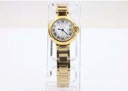 new Luxury Male Yellow Stainless Steel Watches Ball Golden woMens Brand Fashion Sytyle Quartz Wristwatch Modern Dress Ladies Sport Watch