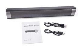 2016 Latest Sound Bar Wireless Subwoofer Bluetooth Speaker 10W Small TV Home Theater Bluetooth Stereo Super Bass HIFI speaker