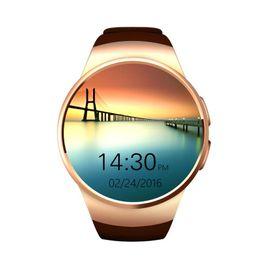 Smartwatch KW18 New Style Bluetooth Smart Watches For Android IOS Smart Phones WaterProof Sport Wristwatch VS U8 DZ09 GT08 A1 W8 Apple Watch