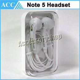 Wholesale OEM Samsung Note Headset Noodle Earphone Flat Earbud mm With Mic and Remote For Samsung Galaxy Note5 Note4 S6 Edge DHL