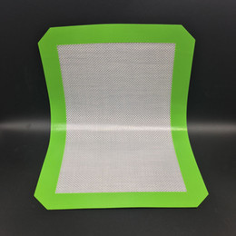 Wholesale Non Stick Silicone Dab Mats CM x CM x inch Silicone Baking Mats Dab Oil Wax Bake Dry Herb Pads