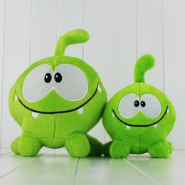 Cut The Rope Game Green Size Cute Plush Soft Toy for kids gift toy doll 2 styles