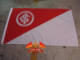 SC Internacional football club flag,polyester 90*150cm,Digital Printing,Brazil Esporte Clube Internacional banner