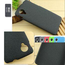 Frosted Sand Sandy Shell Funda mate de plástico de la caja de la PC para LG Google Nexus 5 casos del teléfono E980 Funda trasera helada Fundas desde plástico nexo proveedores
