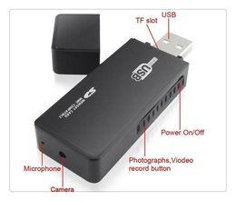 Wholesale Spy Cameras Mini DV U9 AVI Spy USB Flash Drive U Disk HD Hidden Camera video recorder with Motion Detection listen device
