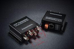 Balun pasivo de vídeo de 4 canales en Línea-Transmisor Receptor UTP de 4 canales de video pasivo del Balun CAT5 RJ45 para CCTV DVR con la caja al por menor